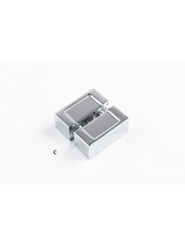 Minimal handle for shower door