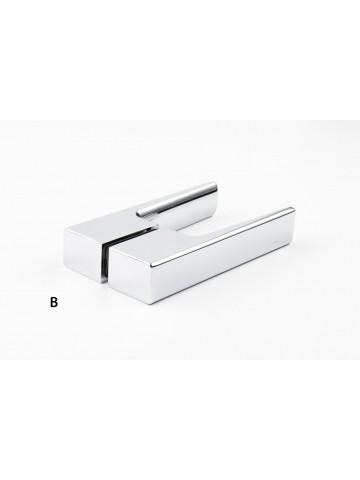 Long handle for shower door