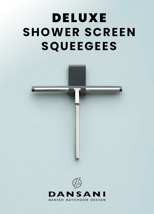 Deluxe DANSANI shower squueges